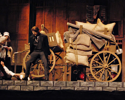 les miserables the runaway cart cover