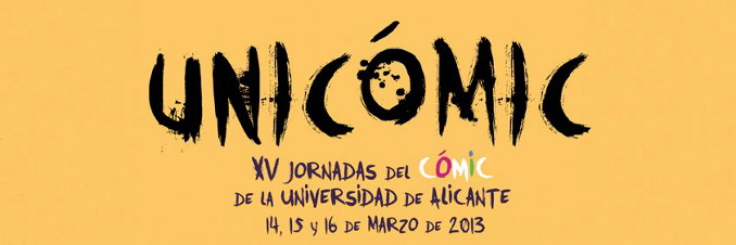 Unicómic (Jornadas del Cómic de la Universidad de Alicante)