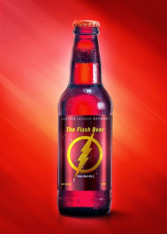 As cervejas da Liga da Justiça