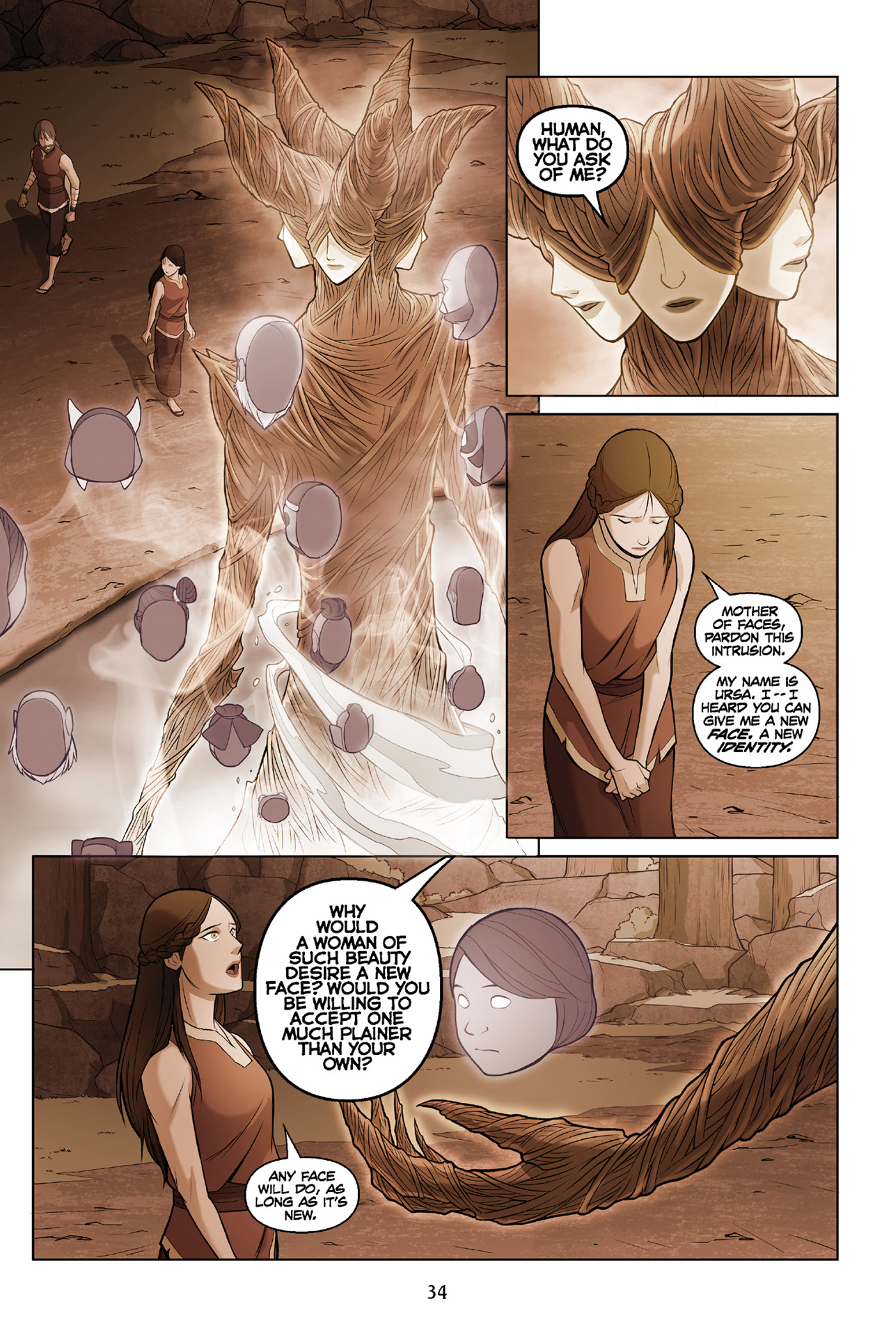 Read online Nickelodeon Avatar: The Last Airbender - The Search comic -  Issue # Part 3 - 35