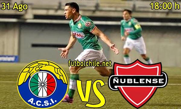 Audax Italiano vs Ñublense  - Campeonato Apertura - 18:00 h - 31/08/2014