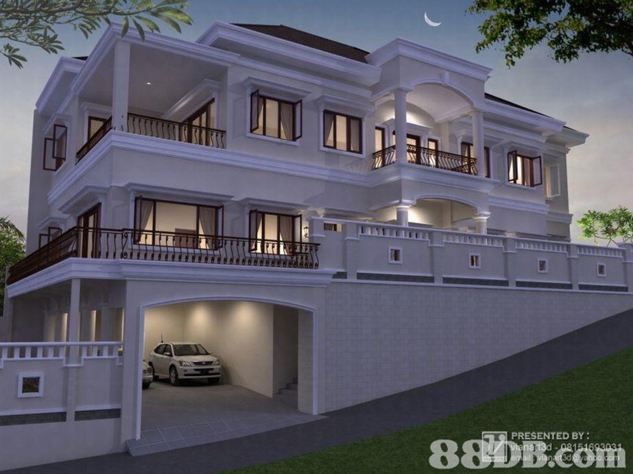 bentuk rumah mewah unik