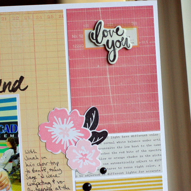 Five for Friday Leigh Penner @leigh148 @bazzillbasics #bazzillbasics #scrapbookinglayouts