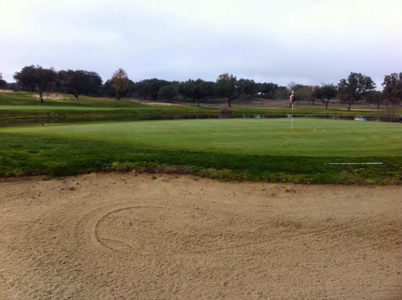 Obstáculo arena golf