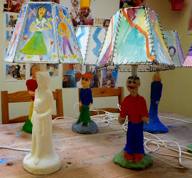 My students' lamps