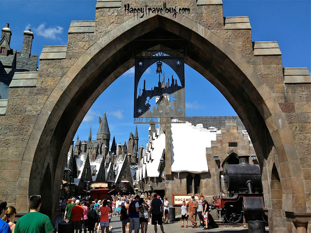 Entrance to Harry Potter World