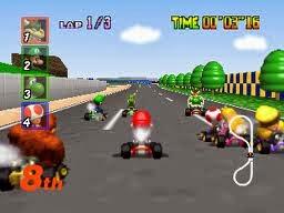 Download Games Mario Kart N64