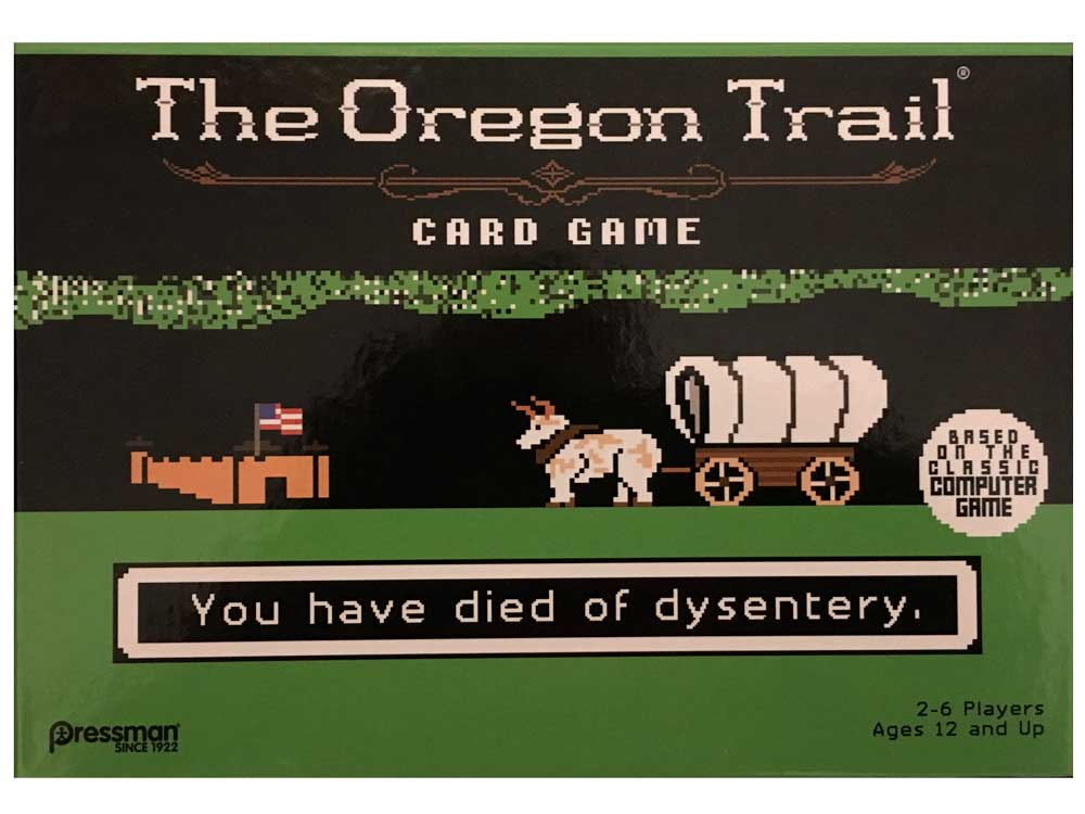 family game tips the oregon trail card game