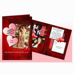 Creative Wonderland Valentine Day Love Customized 3-Page Card for Rs. 94 at Groupon