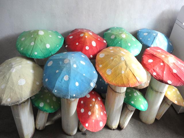 Hongos Colores