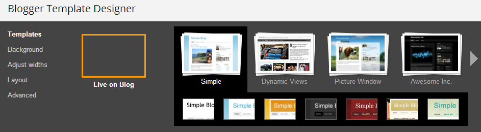 how to change template of a blogger blog technology blogging