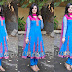 Lucky Sharma in Blue Georegette Salwar