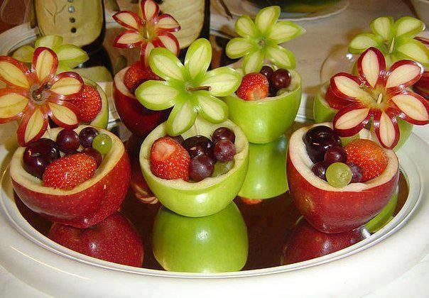 Fruit salad decorations ideas arts and crafts projects - Salad decoration for kids ...