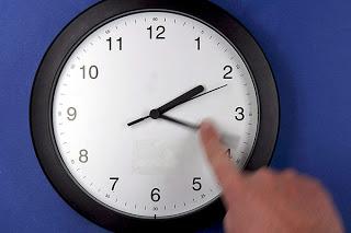cambio de hora