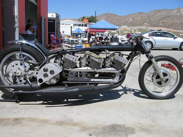 Yamaha Drag Racer | Motorcycle drag racing | Drag Bike | Drag race | Yamaha Racing | Pat Miller's triple-engine Yamaha