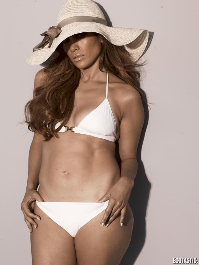 Sin Mas Que Decir Les Dejamos Las Fotos De Jennifer Lopez En Bikini