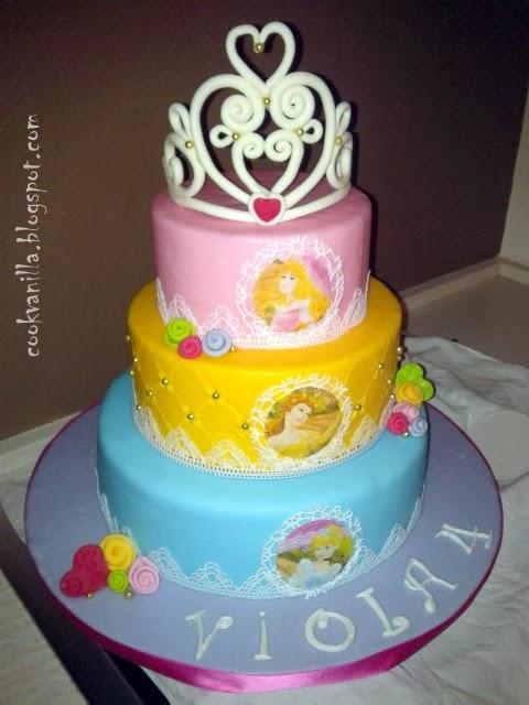 cookv@nill@: Torta principesse