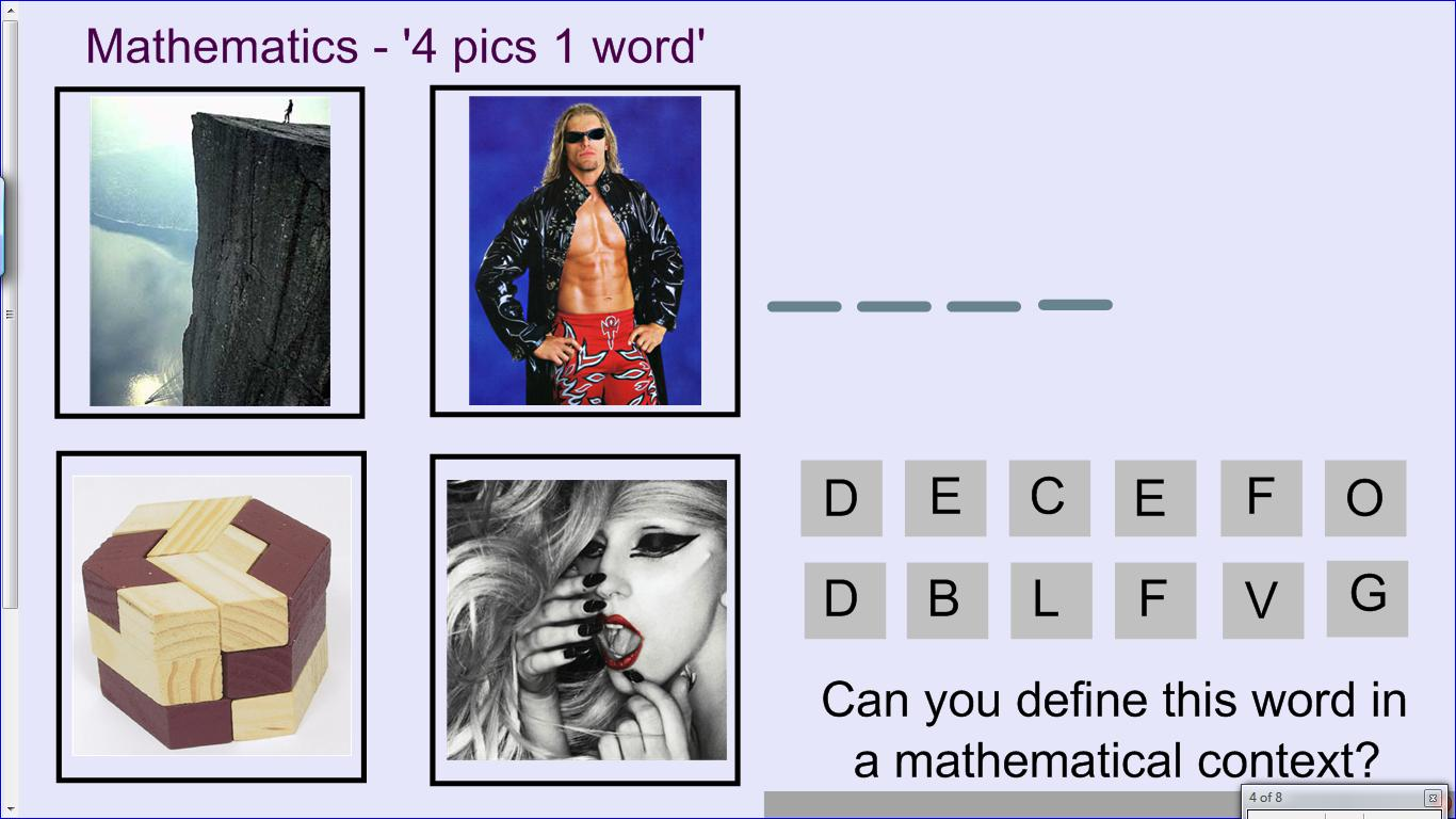 Mr collins mathematics blog mathematics 4 pics 1 word mathematics 4 pics 1 word aljukfo Images