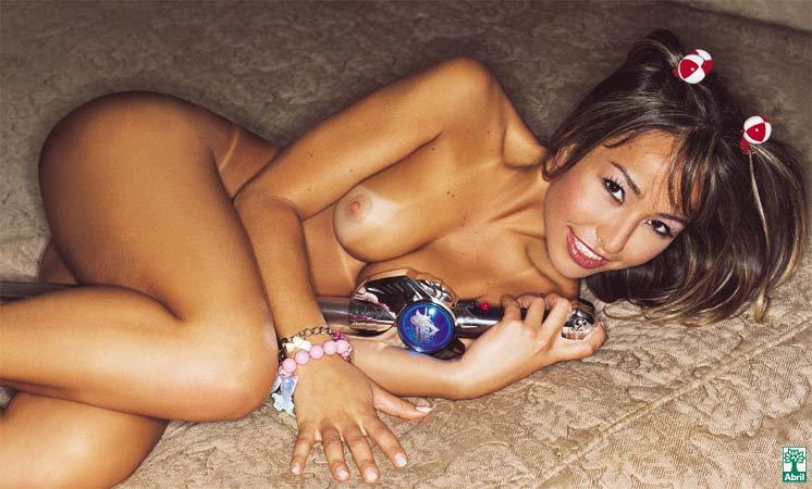 Sabrina Sato Nua Pelada Playboy