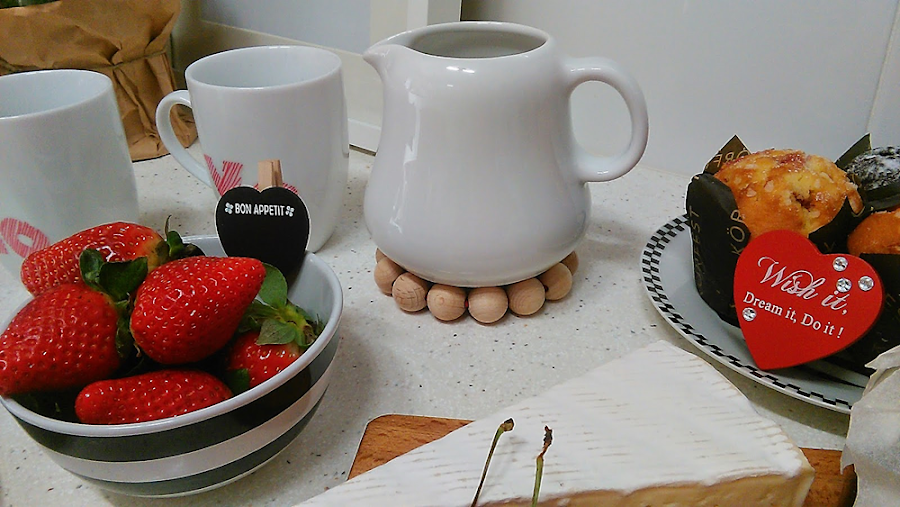 Patron de osito san valentin manualidades - Preparar desayuno romantico ...
