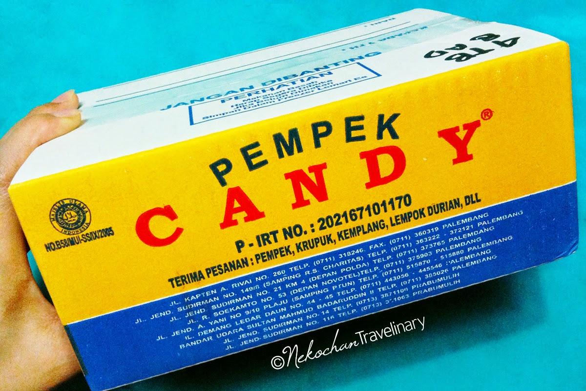Mencicipi Pempek Candy Asli Palembang Tambahan Packing Bubble