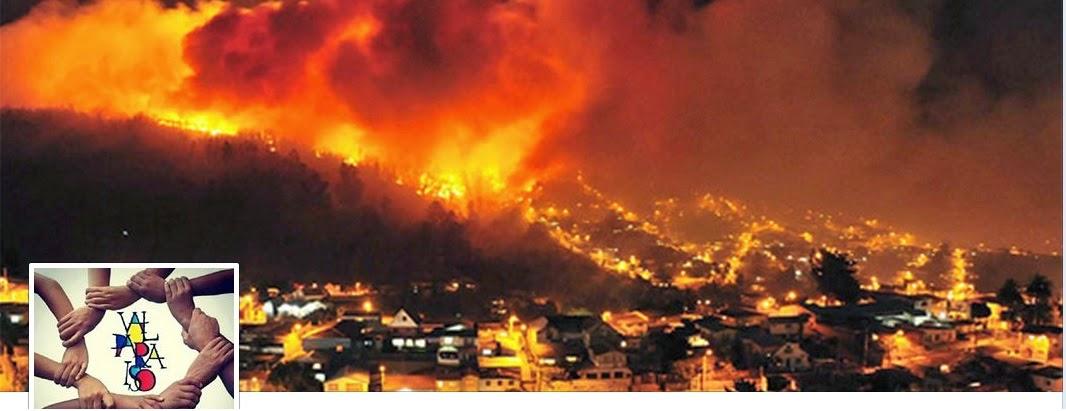 Ayuda a Valparaiso en llamas