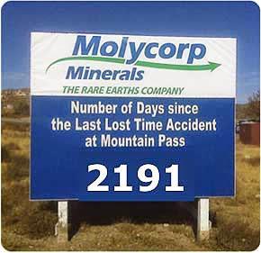Molycorp Minerais dos Rothschild