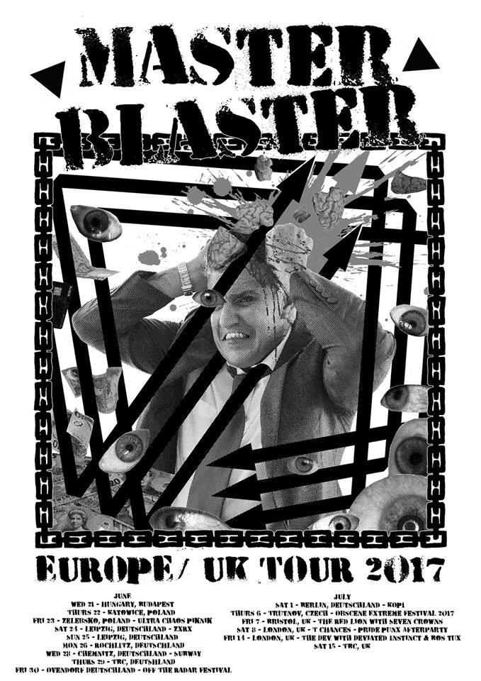 Master Blaster Euro/UK Tour 2017