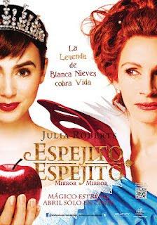 Ver online: Espejito Espejito (Blancanieves / The Brothers Grimm: Snow White / Mirror Mirror) 2012