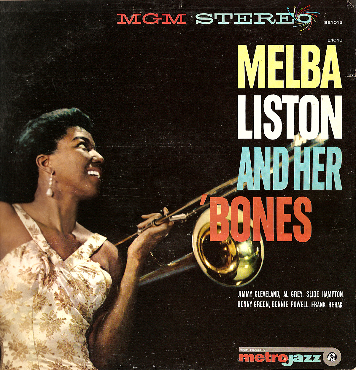 melba liston - melba liston and her bones (sleeve art)