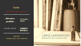 Taller literario 'El Lápiz carpintero'
