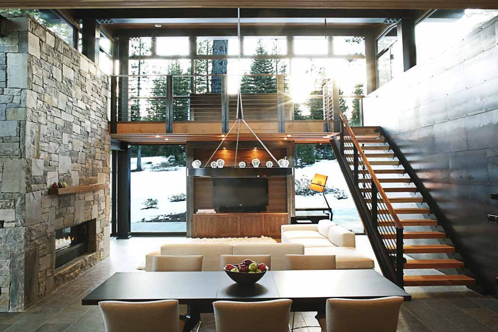 If It's Hip, It's Here: Marvelous Modern Mountain Home In Truckee ...