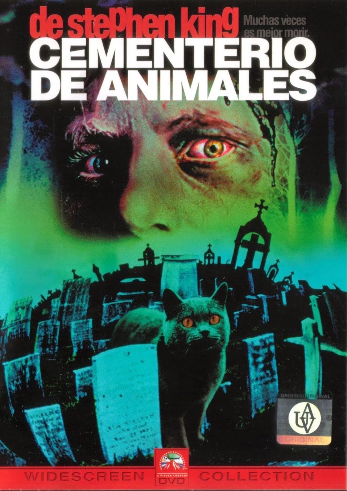 Cementerio de animales - Libro y película