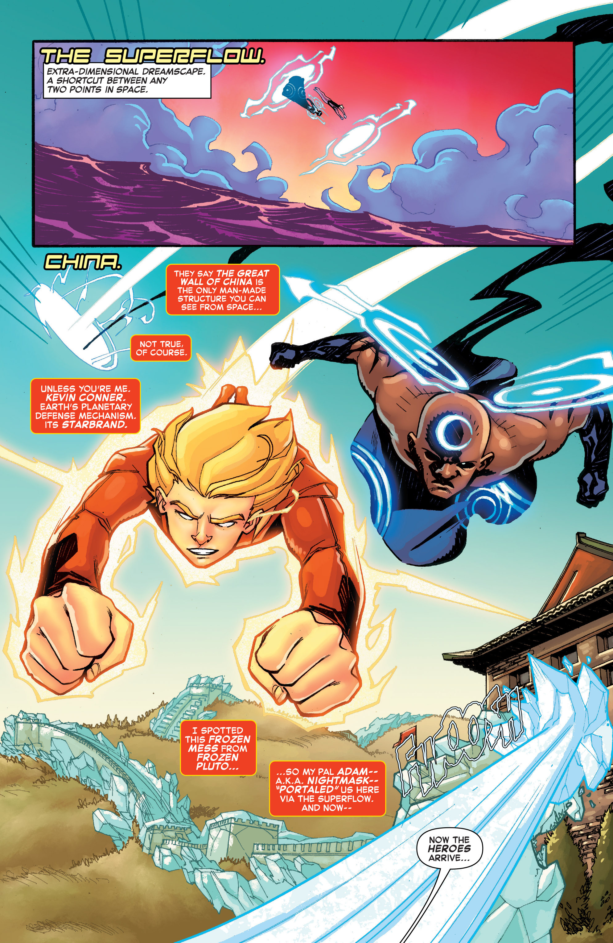 Read online Starbrand & Nightmask comic -  Issue #1 - 3