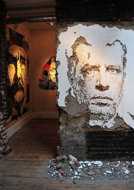 Alexandre Farto - Vhils Arte urbana grafitti