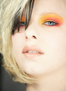 Crush Orange Makeup – Party Wear