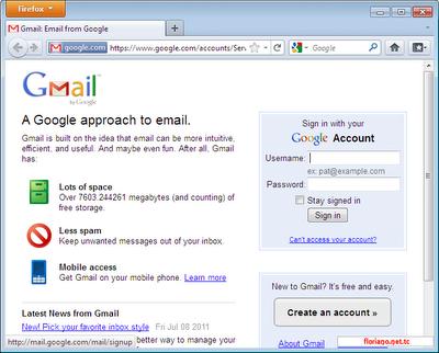 membuat alamat email gmail google mail cara membuat email di yahoo