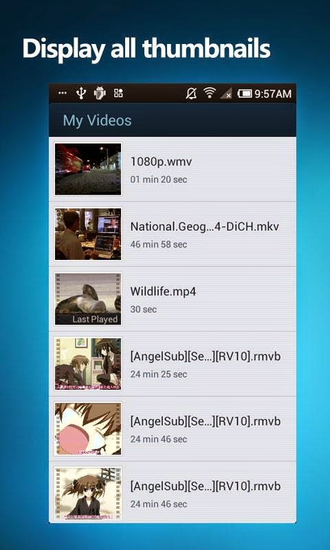 Cara Memutar Video Format AVI, FLV, MP4, 3GP, dan MKV di Android - 3