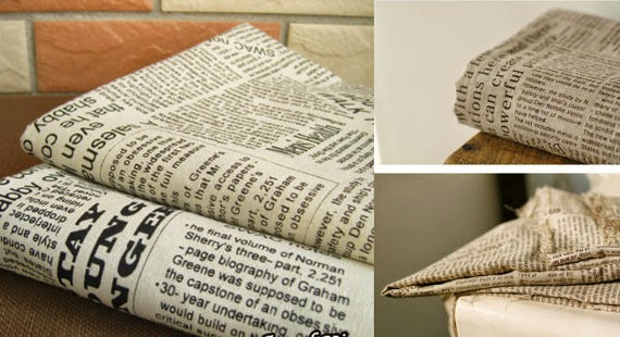 Creative Newspaper Print Inspired Products and Designs (15) 4
