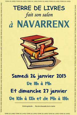salon du livre à Navarrenx  2013