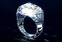 Shawish jewellery company produced an all-diamond ring as a substitute for a metal band