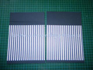 Tapas de libreta forradas con la técnica del cartonaje