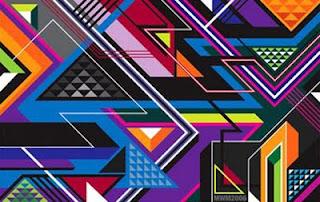 Graphic graffiti design