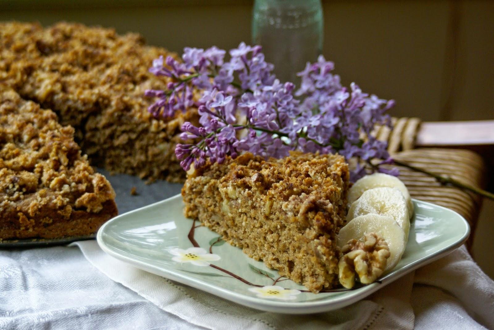 Maple Banana Nut Coffee Cake for Mom – Margaret's Dish
