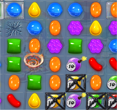 capture d'écran Candy Crush Saga - niveau 440