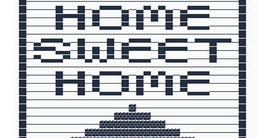 Home sweet home copy paste text art cool ascii text art 4 u for In this house copy and paste