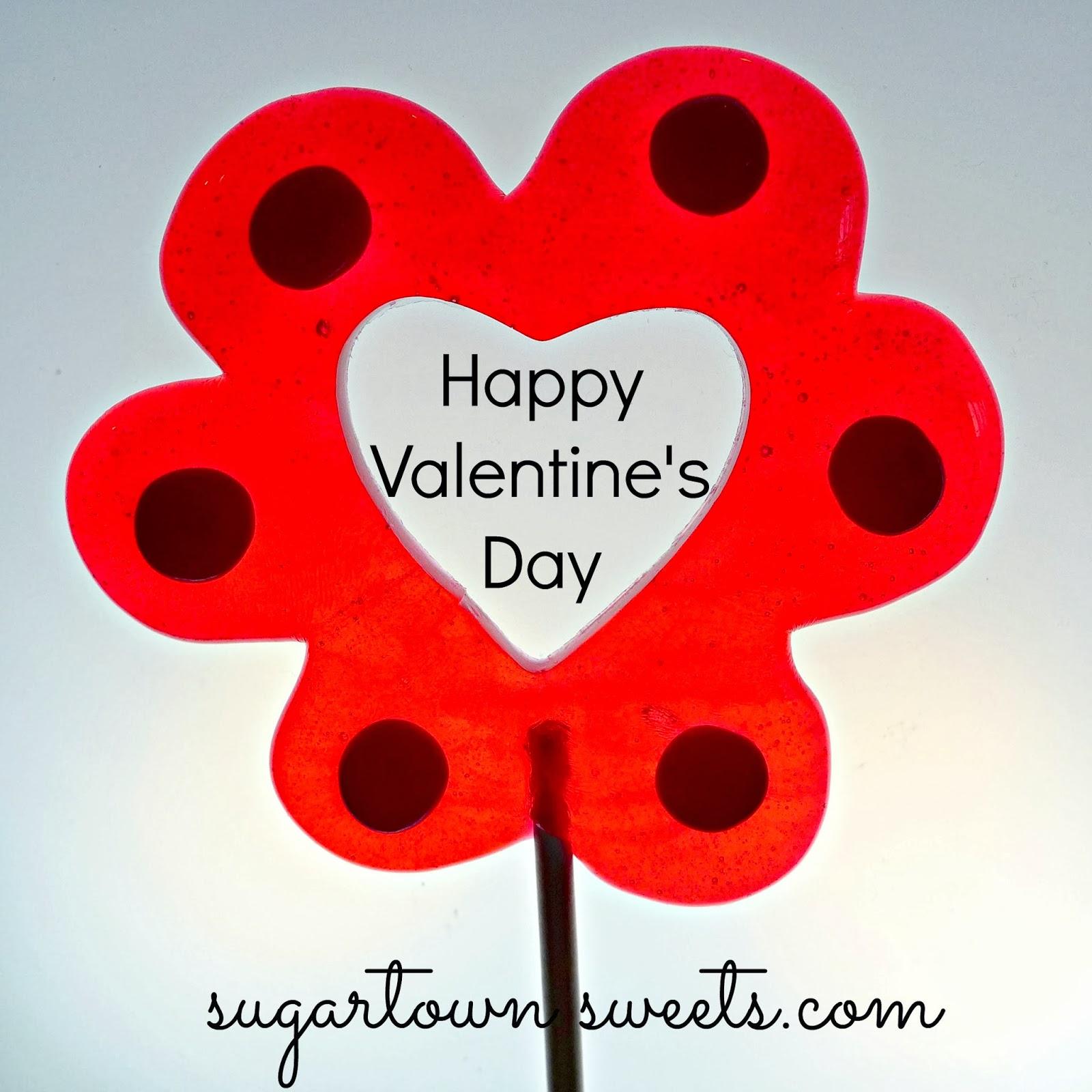 valentines day lollipops - Valentine Lollipops
