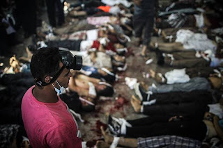 Korban pembantaian di Rabaa