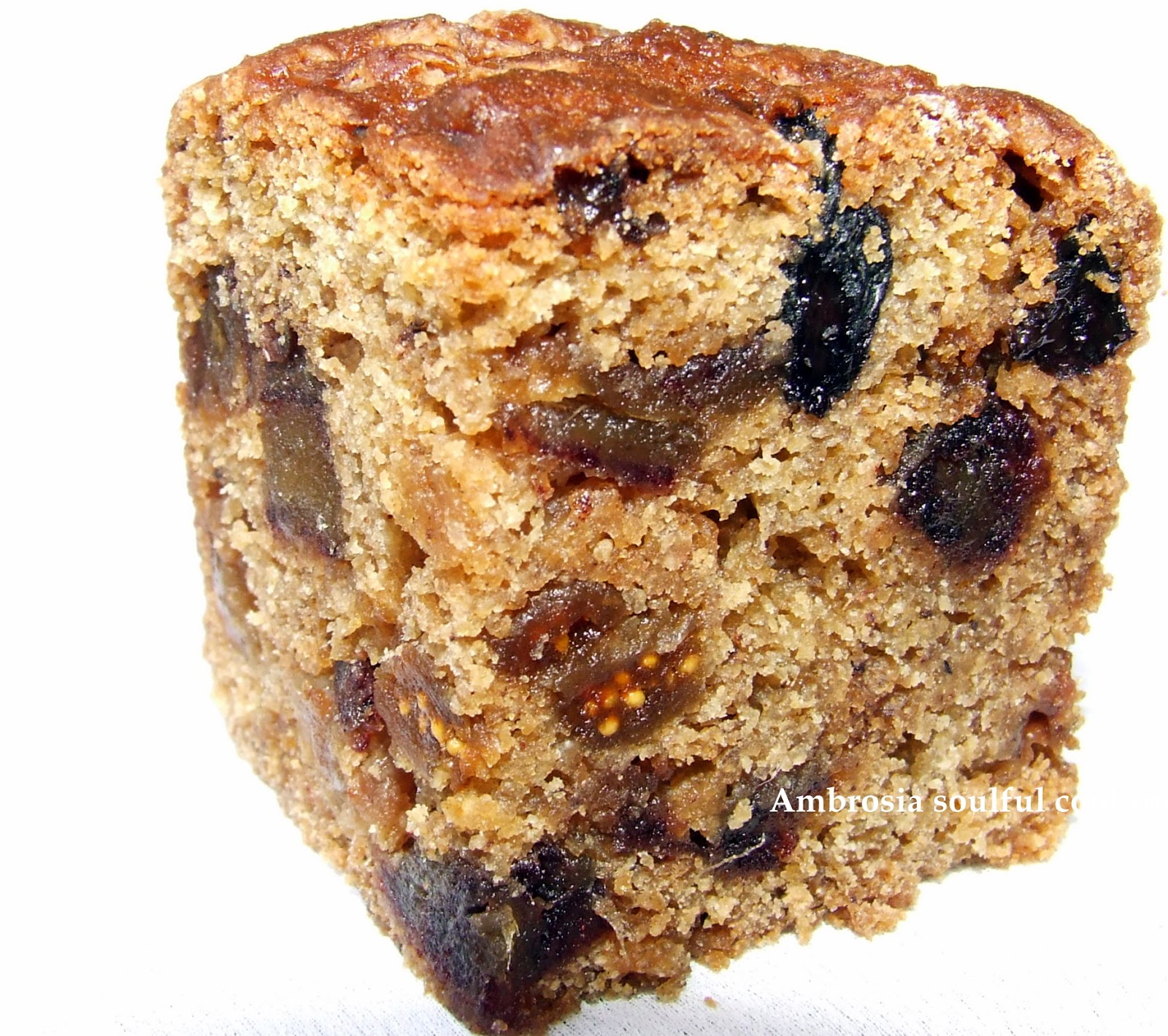 had bookmarked the recipe of a cake which has a lot ofspices. I made ...