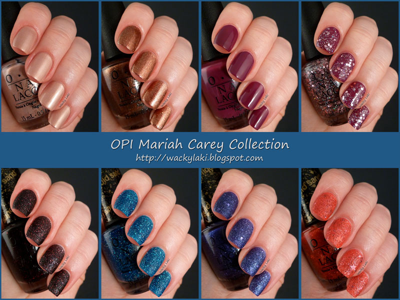 Mast LifeStyle: OPI Mariah Carey Collection Featuring Liquid Sand